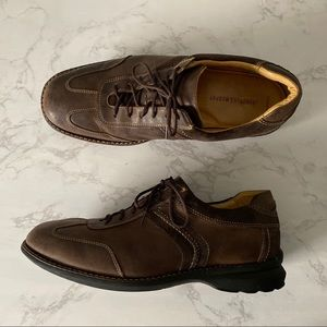 Johnston & Murphy 11 Leather Suede Casual Shoe
